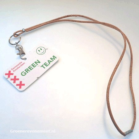 Eco-Lanyard of cork