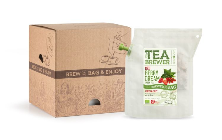 Red Berry Dream Organic Green Tea
