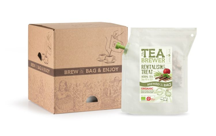 Revitalizing Treat Organic Herbal Tea