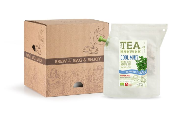 Cool Mint Organic Herbal Tea