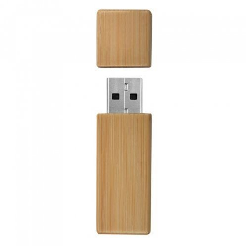 USB key bamboo