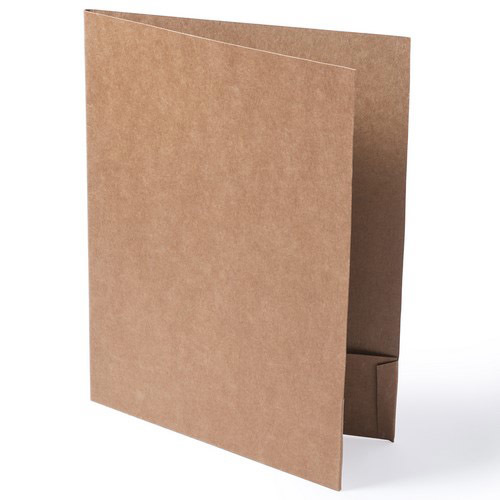 A4 kraft recycled cardboard documents folder