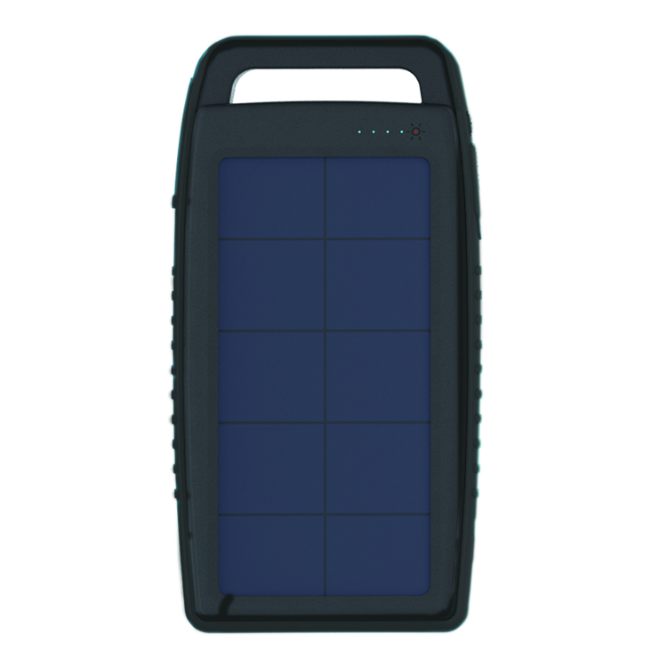 Solar Charger 5000 mAh Popular in black color
