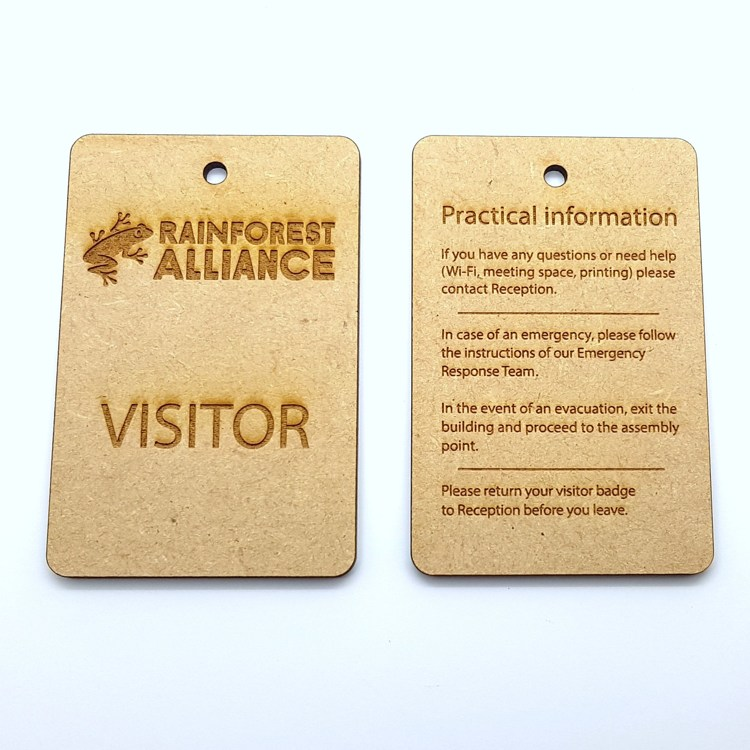 Visitor Badge / ticket
